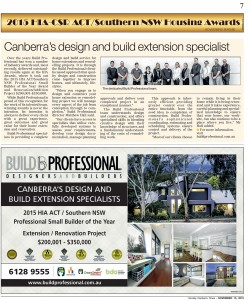 Build Professional Canberra Times Feature