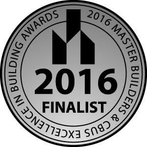 Finalist 2016 Excellence in Building Awards