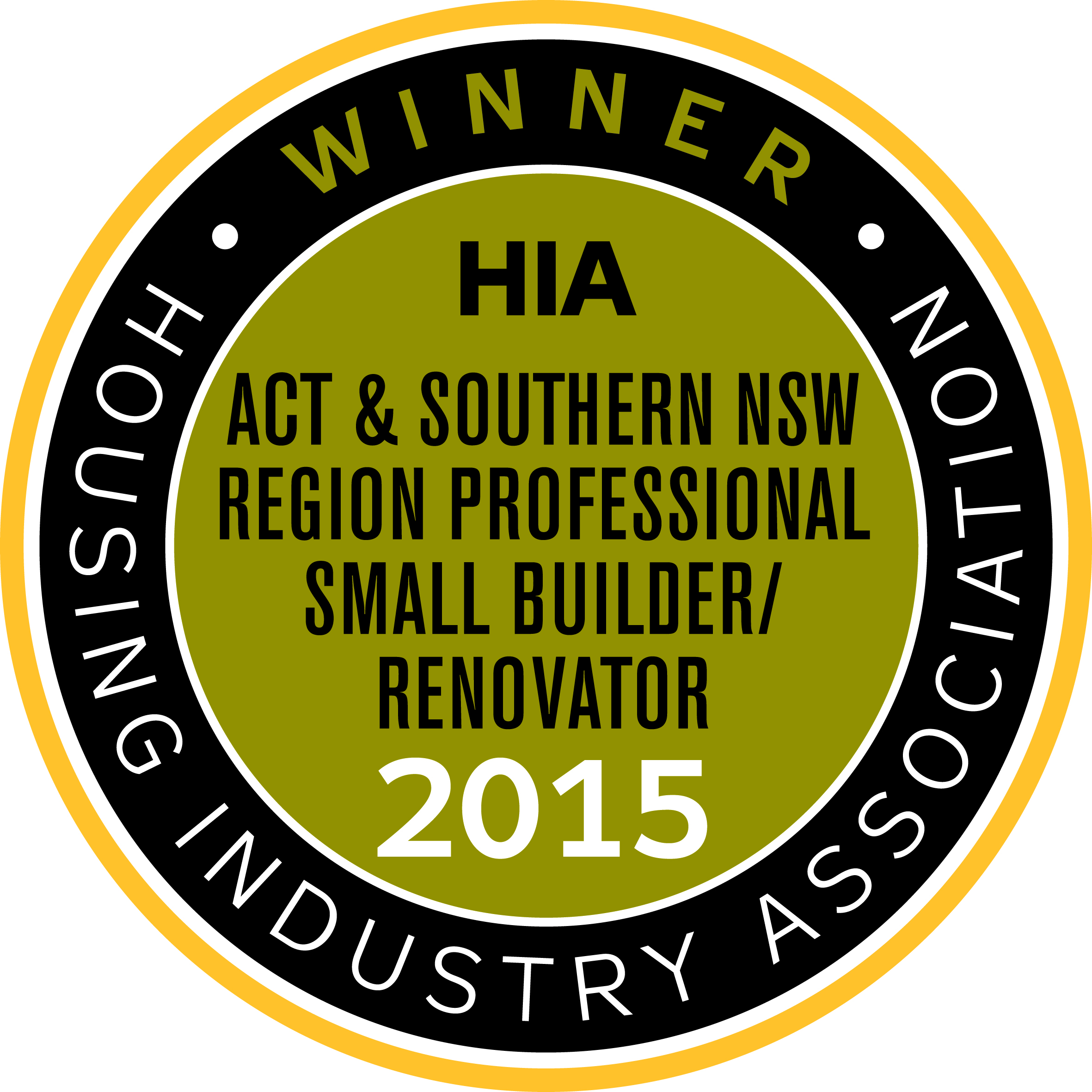 HIA ACTSNSW SMALL 2015 winner 1